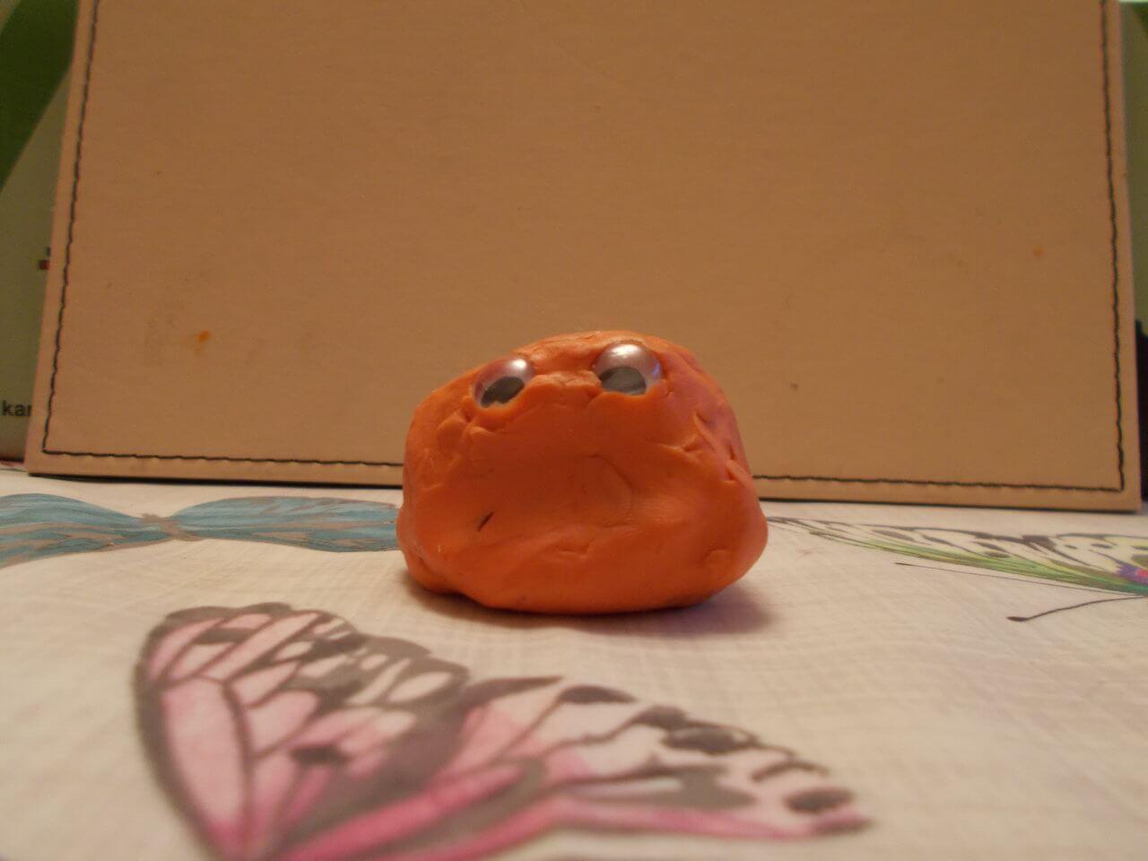 Mrs Orange Blob